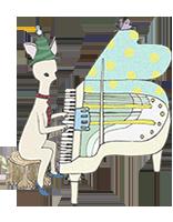 ピアノシカ